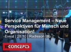 SERVICE MANAGEMENT-NEUE PERSPEKTIVEN FÜR MENSCH UND ORGANISATION!
