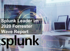 Splunk als Leader im 2020 Forrester Wave Report ™ für Security Analytics-Plattformen