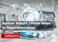 Gartner | Three steps to Hyperautomation